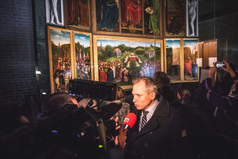 Minister van onroerend erfgoed Matthias Diependaele (N-VA)
