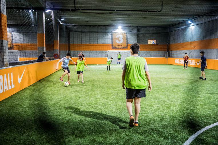 De veldjes van het Urban Soccer-complex worden weer in gebruik genomen vanaf augustus.