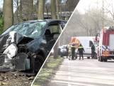 Zwaar ongeluk: bestuurder PostNL-busje aangehouden