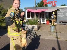 Brand bij Toon's Eten in Hengelo snel geblust