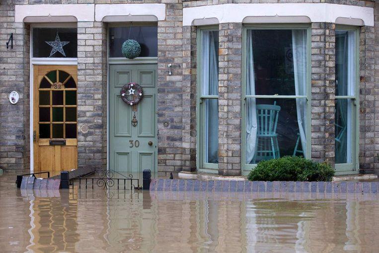 Overstromingen in Noord-Engeland. Beeld afp