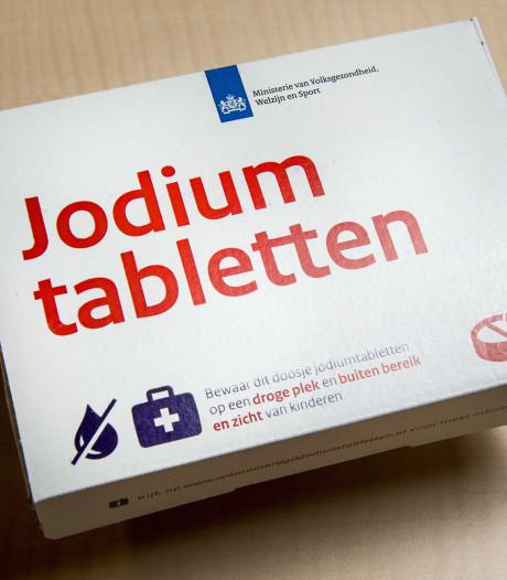Fouten bij verspreiding jodiumpillen voor kernramp bewust stilgehouden