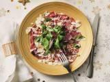 Carpaccio met frisse salade