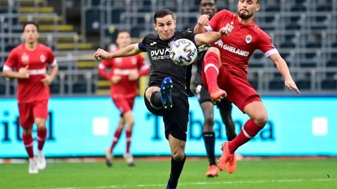 """Eerste basisplaats in twee maanden voor Birger Verstraete (Antwerp): """"Nederlaag had niet gehoeven"""""""
