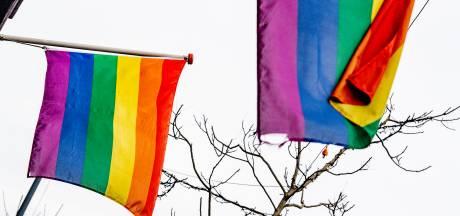 Overal een regenboogvlag? Nee, in Vught wapperde deze juist niet
