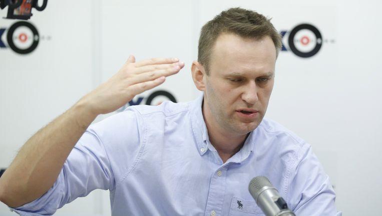 De Russische oppositieleider Navalny noemt Medvedev 'een van de rijkste en meest corrupte' personen in Rusland Beeld epa