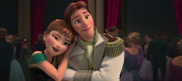 Elsa en Hans in 'Frozen' Beeld Disney