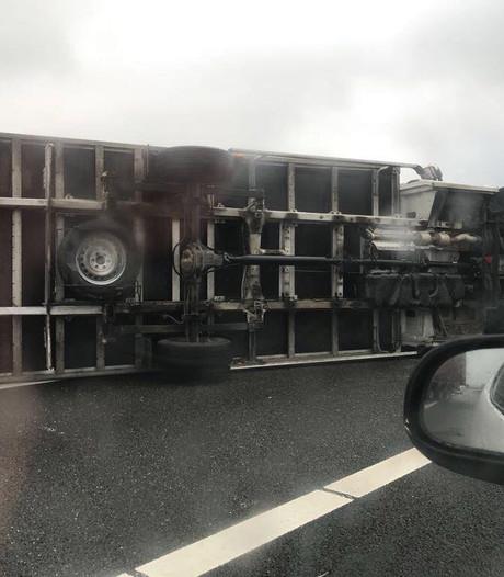 Chauffeurs moesten van baas rijden in storm: 'Geen gelul, gewoon de weg op'