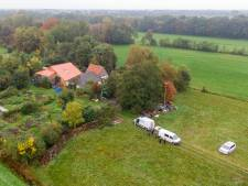 Politie brengt alle ruimtes van boerderij Ruinerwold in kaart met speciale VR-techniek