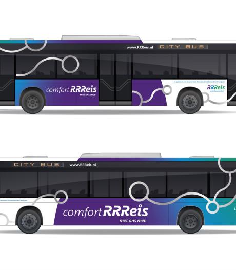 Bussen en treinen in Oost-Nederland krijgen make-over onder de naam RRReis