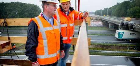Flinke klus aan N629 bij Oosterhout begonnen