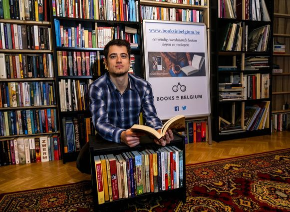 Dieter Byttebier van Books in Belgium is zelf een fervente lezer.