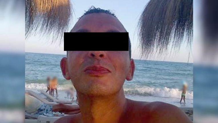Ridouan T., de meest gezochte crimineel van Nederland.  Beeld .