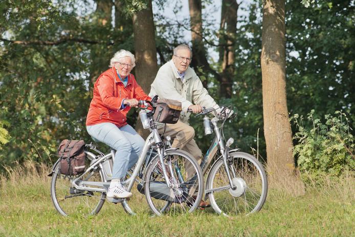 Vooral ouderen op een e-bike lopen gevaar.