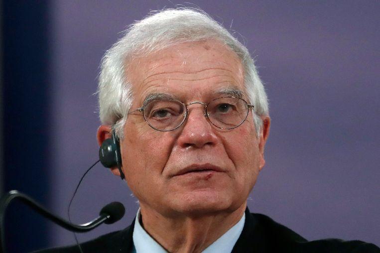 De EU buitenlandschef Josep Borrel. Beeld AP