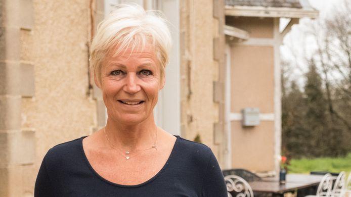 Caroline van Eeden in Chateau Meiland.