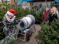 Ewijkse kerstbomenhandel gedijt nu al bij het vele thuisblijven