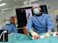 Primeur met herplaatsbare stent in Catharina Ziekenhuis Eindhoven