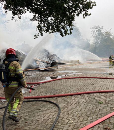 Filmsterren ongedeerd na brand bij manege in Emmeloord: trainingen gaan door