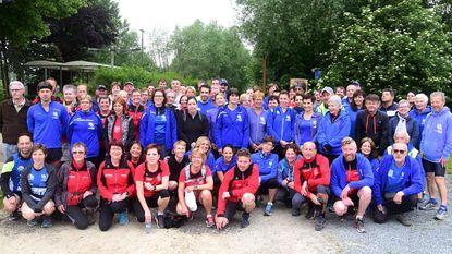 Joggers gaan op bedevaart naar Halle