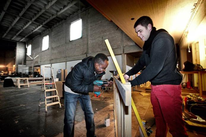Werk is belangrijk voor integratie van asielzoekers. FOTO Jean Pierre Jans