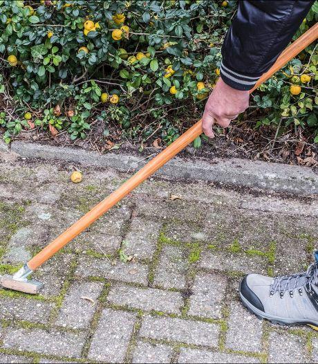 Berg en Dal wil dat burgers vanaf 2017 zelf onkruid van trottoir vegen