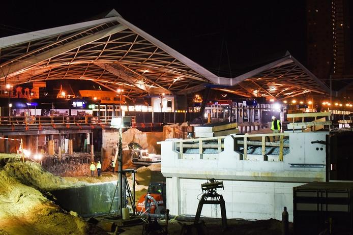 Werkzaamheden station Tilburg