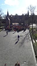 De Keiebijters hadden hun best gedaan om voldoende deelnemers op te trommelen. Ze gingen onder andere langs bij scholen.