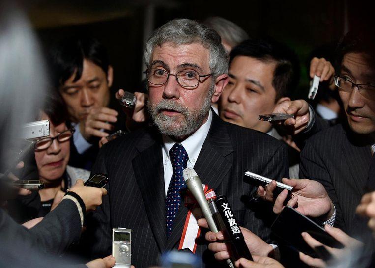 Paul Krugman Beeld EPA