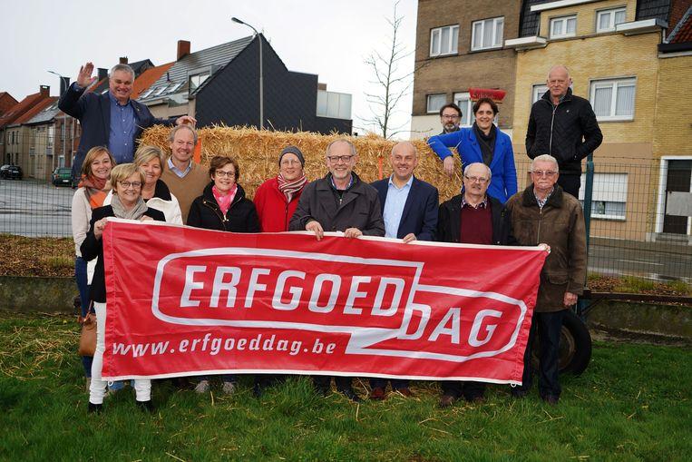 De organiserende ploeg achter Erfgoeddag in Meulebeke.