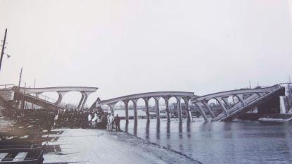80 jaar geleden stortte brug over Albertkanaal in