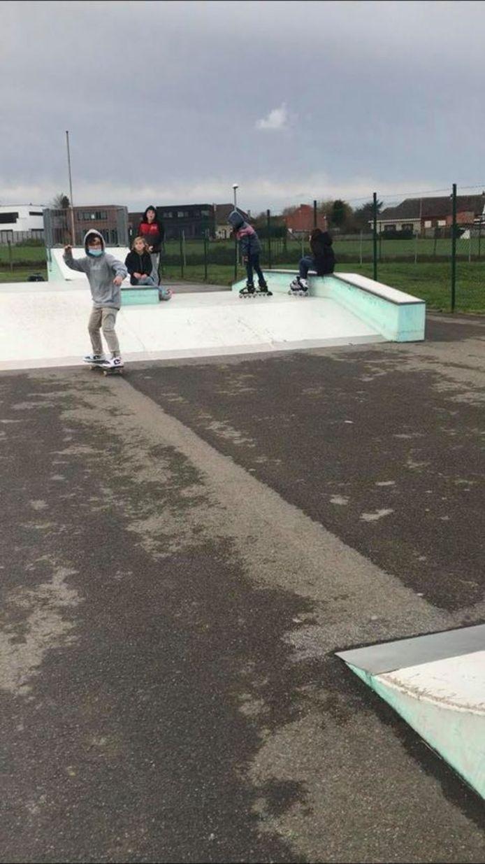 Het park is volgens de skaters toe aan vernieuwing