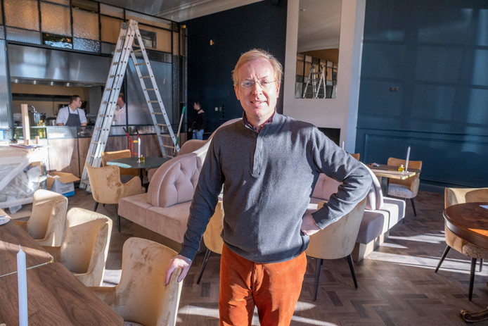 """Hotelier Govert Janzen in restaurant Cristó: ,,Het is zelfs mooier geworden dan we hadden bedacht. Je kan het maar één keer goed doen."""""""