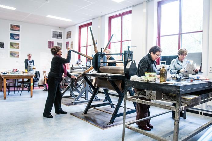 Cursus in Goretti, een van de ruimten van Ateliers Tilburg
