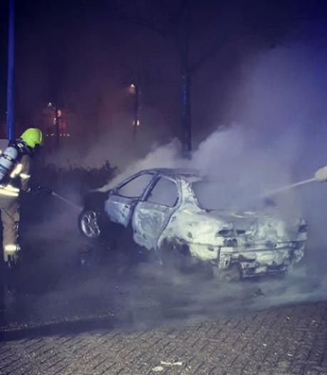 Meerdere brandstichtingen afgelopen nacht in Middelharnis