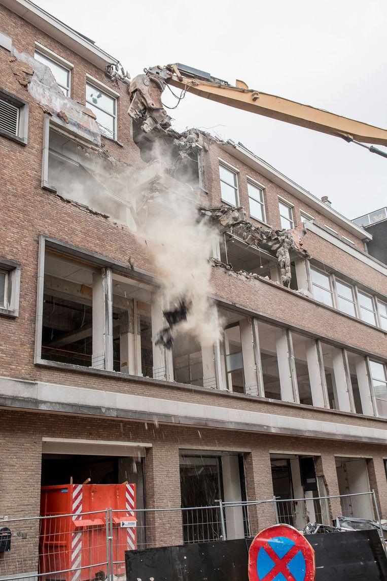 ©Joke Couvreur - afbraak van de oude Belgacomsite