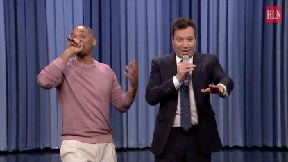 Will Smith en Jimmy Fallon maken geniale remix van de beste tv-liedjes aller tijden