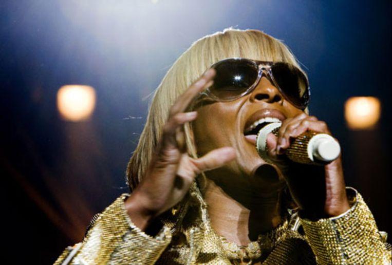 De Queen of Hiphop Soul live in de HMH in Amsterdam, 1 juni (ANP) Beeld