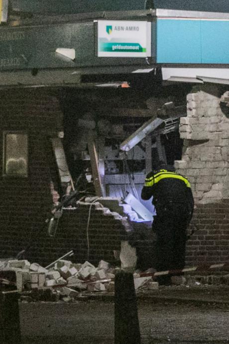 Pinautomaat opgeblazen bij plofkraak in Nijmeegse wijk Malvert: 'Het klonk als onweer'