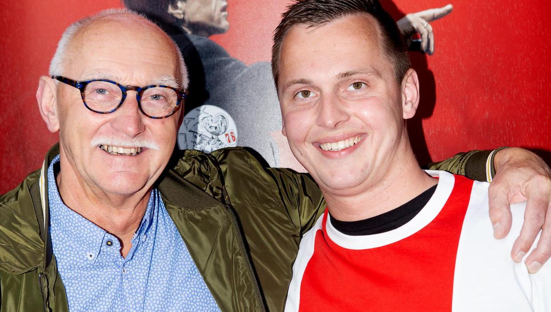 Johan van den Bosch met zijn vader Gerrit Jan van den Bosch Beeld Sanne Zurne
