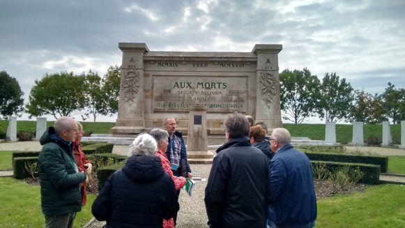 Koolkerke bezoekt de frontlinie.