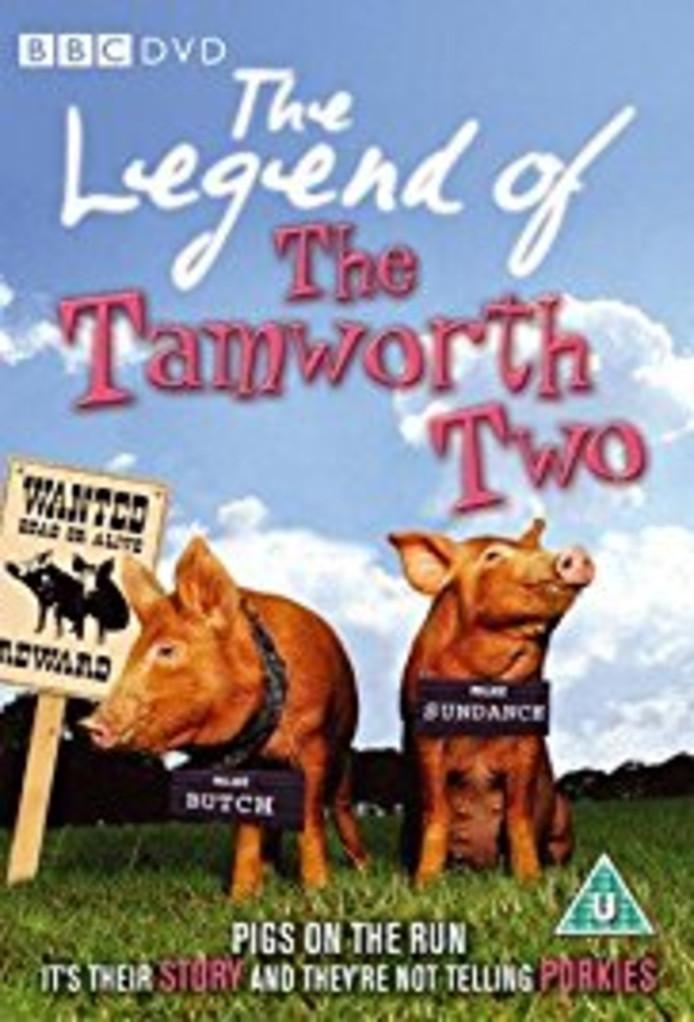 Het avontuur van de twee Engelse varkens werd verfilmd.