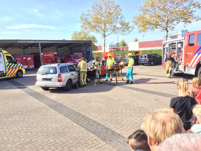 Open dag brandweer en ambulancepost Avignonlaan Eindhoven.