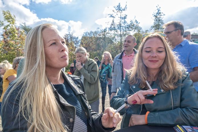 De aftrap van Stoptober, de landelijk actie om het stoppen met roken de enthousiasmeren.