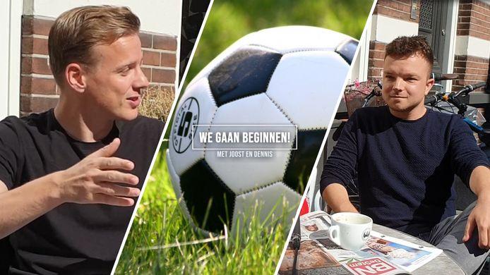 Joost Blaauwhof en Dennis Kas bespreken het nieuwe amateurvoetbalseizoen.