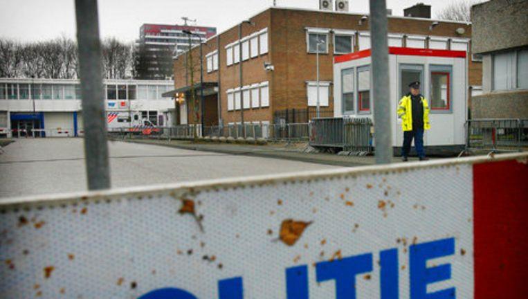 De rechtbank in Amsterdam houdt donderdag een zitting in de strafzaak tegen drie mannen die zich toe zouden leggen op de uitvoering van criminele afrekeningen. Foto ANP Beeld