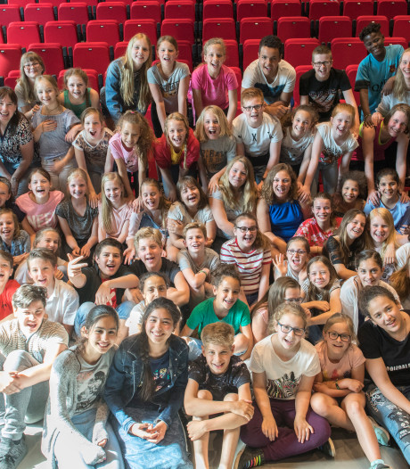 60 kinderen van 18 scholen in één musical