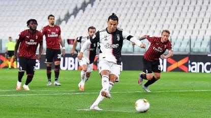 De zeldzame penaltymisser van Ronaldo: Juventus naar finale na teleurstellende pot voetbal