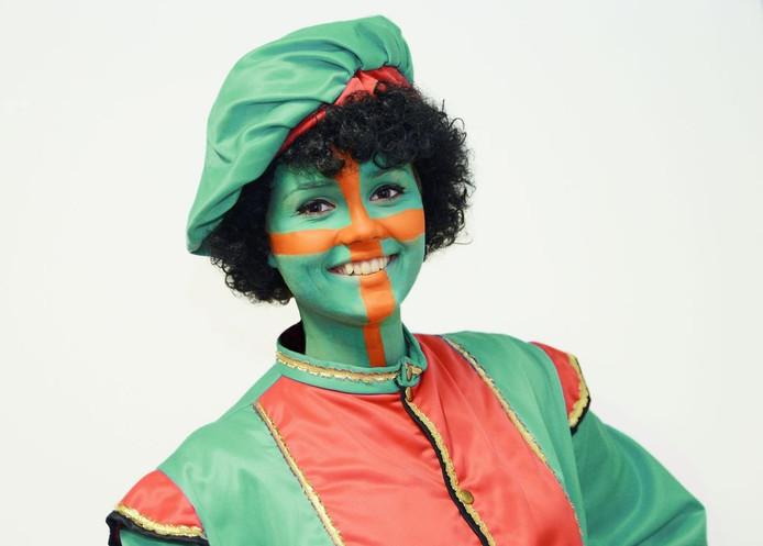 Vierdaagse Piet als alternatief voor Zwarte Piet in Nijmegen.