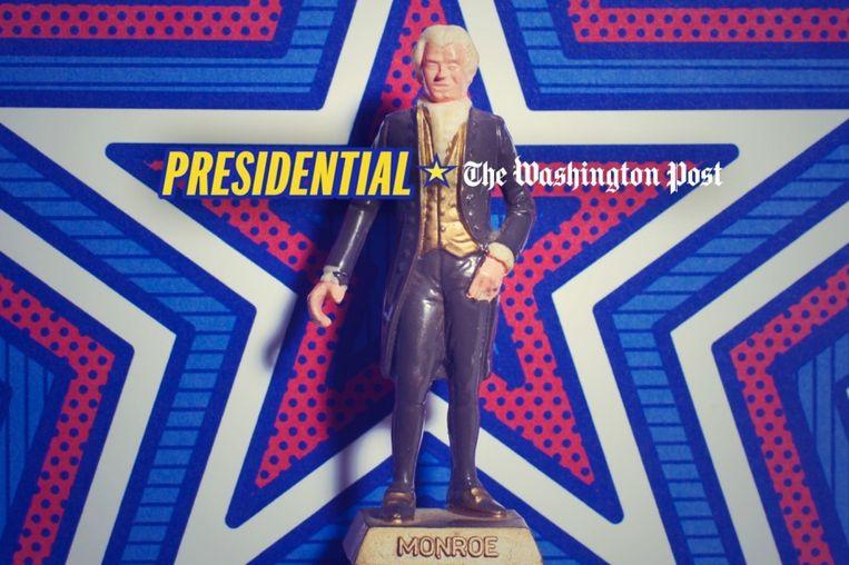 Wekelijks verschijnt een nieuwe aflevering van Presidential Beeld The Washington Post